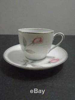 Pot De Thé / Café Vintage Noritake China Rosemarie, Japon, 15 Pièces