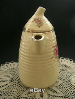 Rare Set De Café Clarice Cliff Vintage Art Déco Chine 16 Pièce Lynton Bee Hive