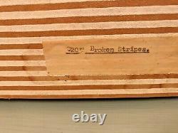 Rare Vintage Susie Cooper Broken Stripes Coffee Set Avec Original Box