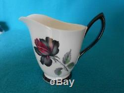 Royal Albertmasquurade English Bone China Coffee Set Vintage 1950-60 Cadeau