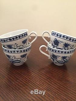 Service À Thé / Café En Porcelaine Vintage De Kahla Pour 4/11 Pièces
