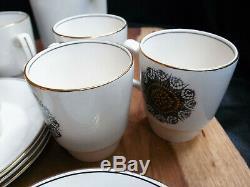 Set De Café Soryaya Rétro Vintage Empire Image 70 Cafetière Et 6 Tasses