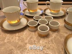 Set Or Café Vintage Collection Présidentielle Représentant (président Ronald Reagan)