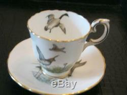 Superbe Service À Café En Porcelaine Vintage De 11 Pièces