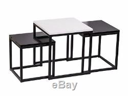 Table Basse, Set Vintage Scandinavian Loft Industriel XXL Design