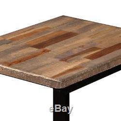 Table De Repas Industrielle Nid De Tables Table Basse Vintage En Bois De 3