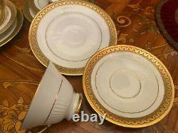 Vintage 10 Tasses 10 Soucoupes Bavière Allemande Schumann Porcelain Coffee Set