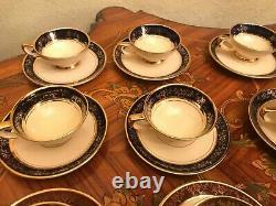 Vintage 12 Tasses 12 Soucoupes Sesto F La Flamma Italien Porcelain Coffee Set