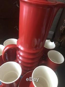 Vintage Carlton Ware Siècle Rouge MID Café Rouge Carlton Siècle MID Ware