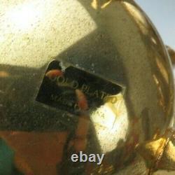 Vintage China Gold Plated Tea Coffee Sugar Creamer Spoons Set Rokoko Baroque