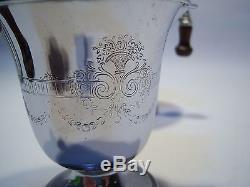 Vintage Farberware Ensemble De Percolateur En Acier Inoxydable Antique À Café / Thé