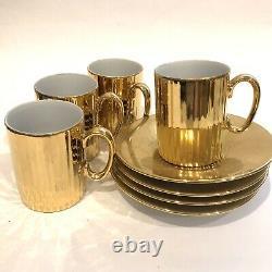 Vintage Gold Coffee Set St Kilda Westminster Chine Australie Années 1960