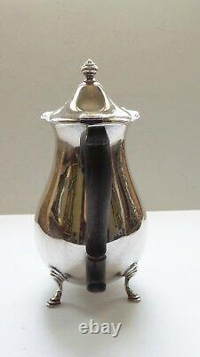 Vintage La Paglia Sterling Silver 3-piece Coffee /tea Set, 1040 Grammes