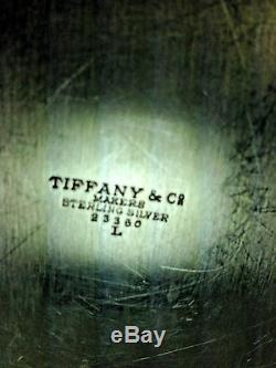 Vintage MID Century Lusk Tiffany & Co. Ensemble De Café À Quatre Pièces En Argent Sterling