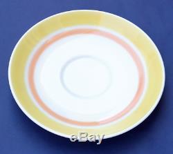 Vintage New Yves Saint Laurent Service À Café En Porcelaine Peinte À La Main, Service À Thé Ysl