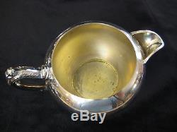 Vintage Oneida Orfèvres Silverplate Coffee Pot, Théière, Ceamer, Ensembles De Sucre