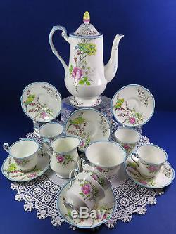 Vintage Paragon Ensemble De Café Complet Princesse Margaret Rose Royal Paragon Chine