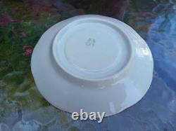 Vintage Porcelain Coffee Tea Set Button Bud Pour Six Personnes (baranovka Urss) Boîte