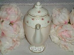 Vintage Rose & Ditsy Roses Art Déco Royal Doulton Minuet Cafe Set 1935-1940