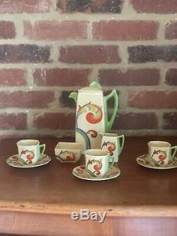 Vintage Royal Doulton Café Set Syren D5102