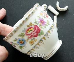 Vintage Royal Grafton Malvern Porcelaine Thé / Café Set 36 Pièces