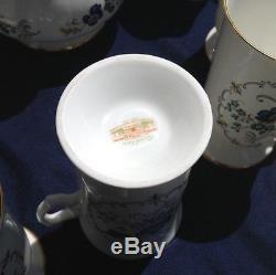 Vintage Royal Irish Tara Ensemble De Café Et De Thé Avec Bougies Et Supports Et 2 Lampes