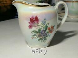 Vintage Set Rda Porcelaine Café Fait À Coldicz