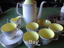 Vintage Superbe Ensemble De Café Sylvan Royal Albert Bone China