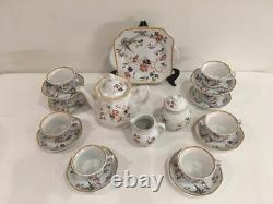 Vintage Wedgwood Devon Collection Rose Set Café