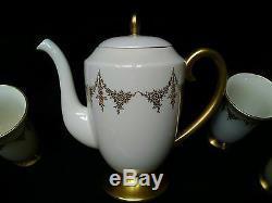 Vtg Flintridge Chine Californie Royal Chateau Chocolat Thé Thé Ensemble Euc