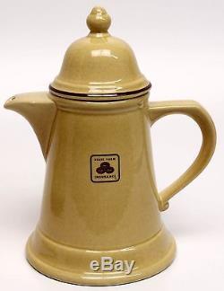 Vtg Pfaltzgraf Coffee Tea Pot / Creamer / Séparateur De Sucre État Analyse D'assurance Agricole