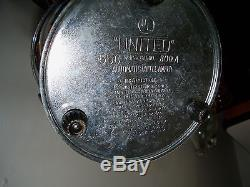 Vtg United Coffee Maker Perculateur Set Creamer + Sugar Bowl Lucile Bakelite Rouge