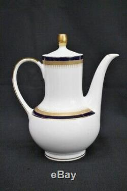 Vtg. Winterling Echt Cobalt Kobalt Scharffeur Coffee Pot Crémiers Sucriers