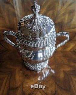 Wm Vintage Rogers 217 Silverplate Sur Le Cuivre À Thé Café